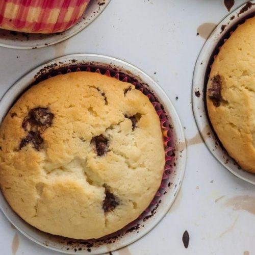 Muffins con chispas al Budito