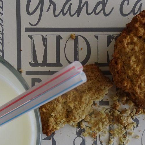 Receta para galletas de avena con Budito de vainilla