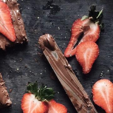 Receta con aguacate: Mousse de chocolate