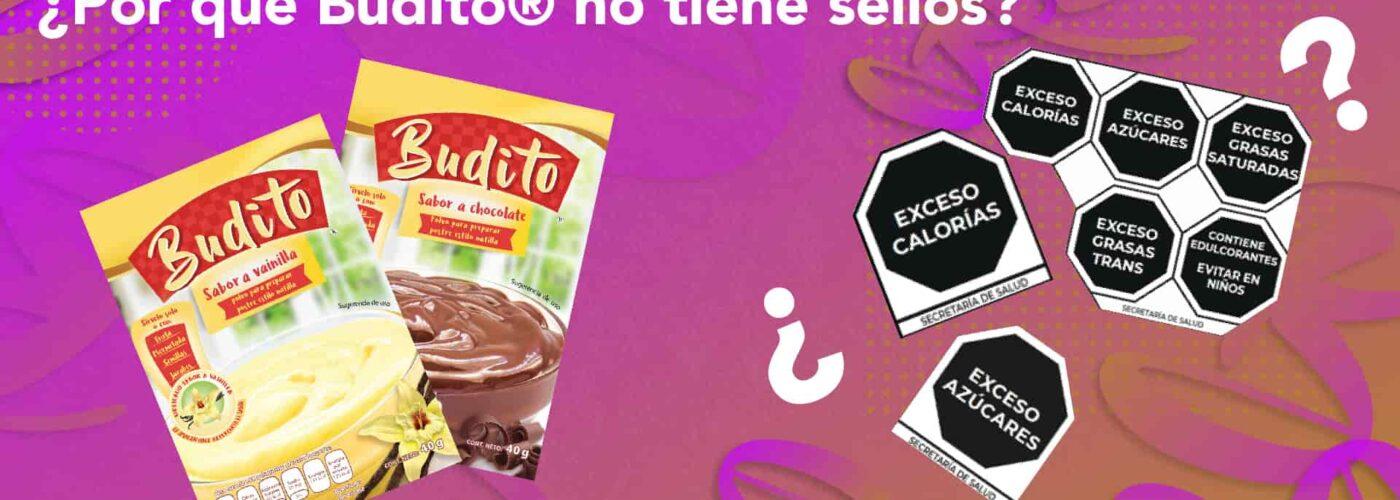 ¿Por qué Budito® no lleva sellos? NOM-051 2020