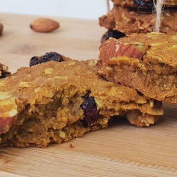 Galletas sabor calabaza, sabores de otoño