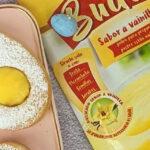 Galletas huevo con relleno sabor rompope