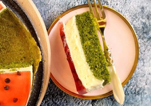 Pastel sandía: Una receta creativa y divertida